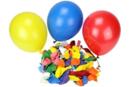 Ballons ronds, couleurs assorties - Set de 100 - Ballons, guirlandes, serpentins - 10doigts.fr