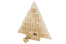 Sapin calendrier de l'Avent - Décorations de Noël en bois - 10doigts.fr