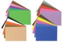 Caoutchouc souple adhésif - 20 plaques - Papiers Unis - 10doigts.fr