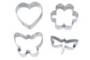 Emporte-pièces métal - Set de 4 formes - Emporte-pièces - 10doigts.fr