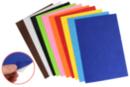 Feutrine adhésive 20 x 30 cm - 10 couleurs assorties - Feutrine, feutre, toile de jute - 10doigts.fr