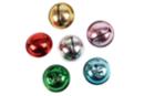 Maxi grelots couleurs assorties - Set de 6 - Grelots et clochettes - 10doigts.fr