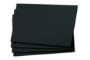 Feuilles noires - Format A3 / A4 - Papiers Unis - 10doigts.fr
