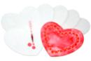 Cœurs en papier diffuseur - Lot de 50 - Les nouveautés - 10doigts.fr