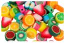 Perles fruits - 50 perles - Perles en pâte polymère - 10doigts.fr