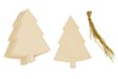 Sapins en bois à décorer - Lot de 6 - Décorations de Noël en bois - 10doigts.fr