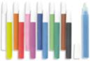 Tubes de sable fin - 12 couleurs - Sable coloré - 10doigts.fr