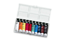 Gouaches en tube - 10 couleurs - Peinture gouache liquide - 10doigts.fr
