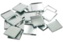 Miroirs carrés 1 x 1 cm (Épaisseur : 3 mm) - Lot de 260 - Miroirs - 10doigts.fr
