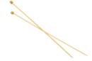 Aiguille à tricoter en Bambou N°4 - Aiguilles 40066 - 10doigts.fr
