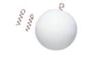 Attaches argentées à visser - Sachet de 10 pièces - Clous et épingles 05913 - 10doigts.fr