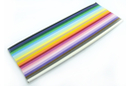 Bandes Quilling ( x 400) - 16 cm x 3 mm - 20 couleurs  - Quilling, paperolles 02713 - 10doigts.fr