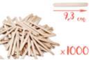 Bâtons d'esquimaux en bois (9,3 cm) - Lot de 1000 - Bâtonnets, tiges, languettes 04265 - 10doigts.fr