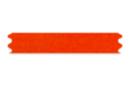 Ruban en satin rouge (largeur 3 mm) - 20 m - Rubans et ficelles 19239 - 10doigts.fr