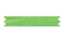 Ruban en satin vert (largeur 3 mm) - 20 m - Rubans et ficelles 19237 - 10doigts.fr