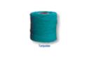 Fil coton turquoise - 30 mètres - Bracelet brésilien 19265 - 10doigts.fr