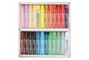 Pastels à l'huile - 24 couleurs - Pastels et Fusains 02622 - 10doigts.fr