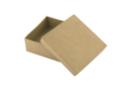 Boîte carrée 9 x 9 cm - H : 5 cm - L'unité - Boîtes en carton 11838 - 10doigts.fr