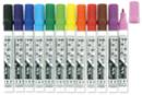 Marqueurs permanents 10 DOIGTS - 12 couleurs - Feutres et marqueurs permanents - 10doigts.fr
