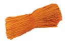 Botte de 50 gr de raphia orange - Paille et Raphia 03552 - 10doigts.fr