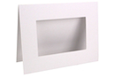 Cadres en carton blanc - Lot de 6 - Cadres en carton - 10doigts.fr