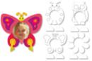 Cadres photo à colorier Printemps - 16 cadres - Supports pré-dessinés 15511 - 10doigts.fr