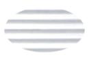 Carton ondulé 50 x 70 cm blanc - 1 rouleau - Carton ondulé 12230 - 10doigts.fr