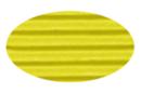 Carton ondulé 50 x 70 cm jaune citron - 1 rouleau - Carton ondulé 08367 - 10doigts.fr