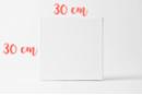 Châssis carré 30x30cm - Châssis - 10doigts.fr