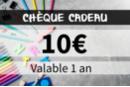 Chèque cadeau 10€ - Chèques Cadeaux KD010 - 10doigts.fr