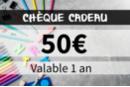 Chèque cadeau 50€ - Chèques Cadeaux KD050 - 10doigts.fr