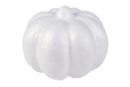 Citrouille en polystyrène 9 x 6 cm - à l'unité - Halloween - 10doigts.fr