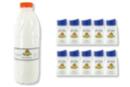 Colle Vinylique 10 flacons 80 ml + CADEAU Flacon 1 litre - Colles scolaires 02790 - 10doigts.fr