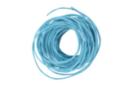 Cordon en coton ciré bleu turquoise- 5 m - Ø 1 mm - Fils en coton, échevettes 05859 - 10doigts.fr