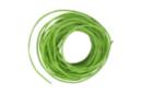 Cordon en coton ciré vert- 5 m - Ø 1 mm - Fils en coton, échevettes - 10doigts.fr