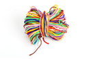 Cordons queue de rat, couleurs vives Ø 1,7 mm - 10 fils de 3 m - Fils en Satin et queue de rat 14525 - 10doigts.fr