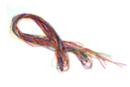 Cordons queue de rat, couleurs vives Ø 1,7 mm - 10 fils de 18 m - Fils en Satin et queue de rat 13178 - 10doigts.fr
