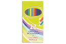 Crayons de couleur - 12 crayons - Crayons de couleurs 18326 - 10doigts.fr