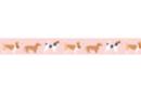 Ruban adhésif fantaisie : chiens - Rubans et adhésifs 41144 - 10doigts.fr
