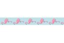 Ruban adhésif fantaisie : flamants roses - Rubans et adhésifs 41138 - 10doigts.fr