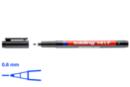 Feutre permanent pointe fine noire 0.6 mm - Feutres pointes fines - 10doigts.fr