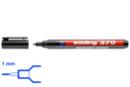 Marqueur permanent noir - Pointe fine 1 mm - Feutres et marqueurs permanents - 10doigts.fr