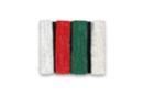 Ficelle coton métallisé 4 couleurs assorties 3m - Fils en coton, échevettes - 10doigts.fr