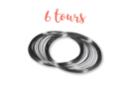 Fil mémoire 6 tours Ø 6 cm - Bracelets 01272 - 10doigts.fr