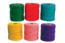 Fils coton, bobines de 30 mètres - Set de 6 couleurs - Bracelet brésilien 19267 - 10doigts.fr