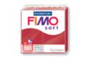 Fimo Soft 57 gr - Cerise - N° 26 - Fimo Soft 02235 - 10doigts.fr