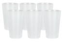 Gobelets en plastique translucide et incassable - Lot de 6 - Plastique Opaque - 10doigts.fr