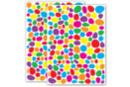 Gommettes mosaïques multicolores - 2 planches (300 gommettes) - Gommettes Mosaïques - 10doigts.fr