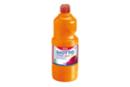Gouache GIOTTO 1 litre Orange - Peinture gouache liquide 03740 - 10doigts.fr