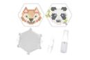 Kit Perles d'eau fusibles  renard & panda - Kits activités clés en main 36205 - 10doigts.fr